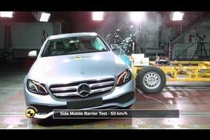 Краш тест на Euro NCAP на Mercedes-Benz E-класа