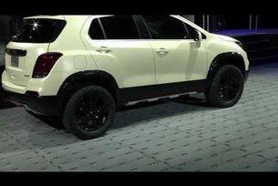 Chevrolet Performance на SEMA 2016 | 2017 Chevrolet Trax Activ Concept
