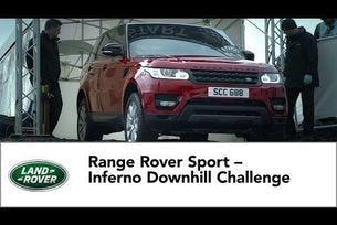 Range Rover Sport – предизивкателното спускане на Инферно