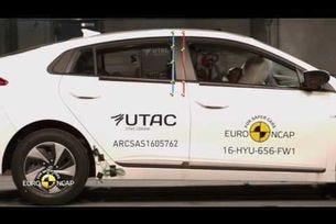 Еuro NCAP краш тест на  Hyundai Ioniq