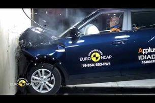 Euro NCAP краш тест на  SsangYong Tivoli