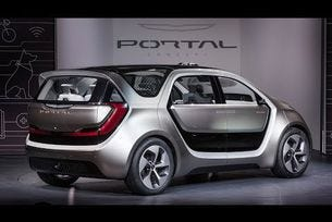 Chrysler Portal Concept 2017 представяне