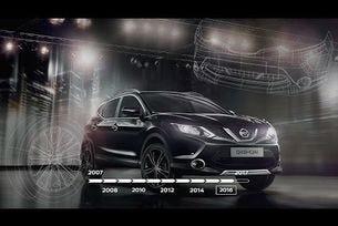 Nissan Qashqai: 10 години на пазара