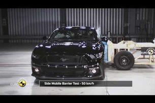 Ford Mustang тестове на Euro NCAP