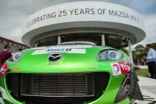 Mazda RX-7 на Фестивала на скоростта в Гудууд 2014
