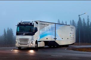 Volvo Trucks тества хибриден камион