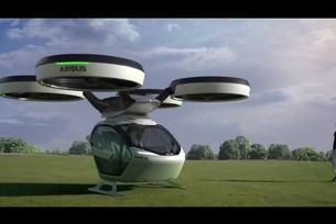 PopUp - съвместен проект на Italdesgn и Airbus