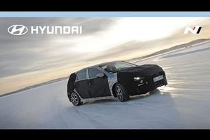 Hyundai i30 N зимни тестове в Тиери Нювил
