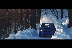 Subaru WRX STI на олимпийската бобслей писта