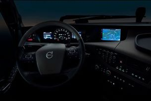 Volvo Trucks - интегрирана система за услуги и забавление