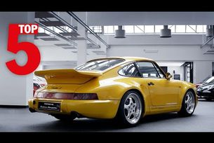 Porsche Top 5 – най-запомнящи се модели Porsche Exclusive