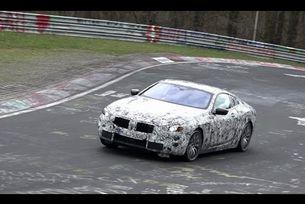 BMW Серия 8 тестове на Нюрбургринг