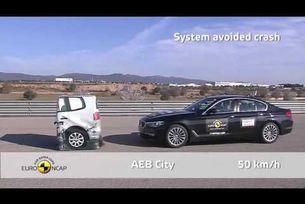 Euro NCAP краш тестове 2017 of BMW Серия 5