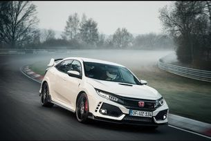 Honda Civic Type R с рекорд на Нюрбургринг