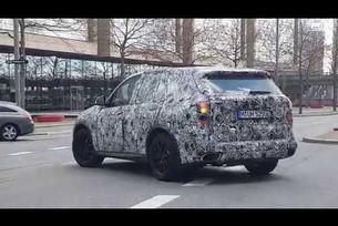BMW X5 пътни тестове Копенхаген