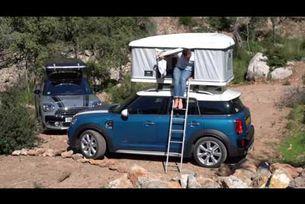 MINI Countryman с палатка на покрива