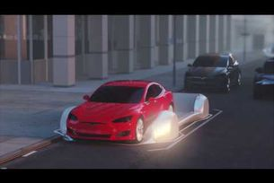 Tesla и поземните тунели