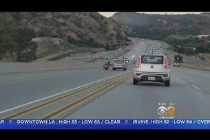 Пътен инцидент с мотоциклет в САЩ