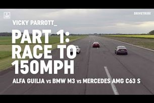 Alfa Giulia Quadrifoglio vs BMW M3 Comp Pack vs Mercedes-AMG C63 S