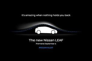 Новият Nissan Leaf аеродинамика