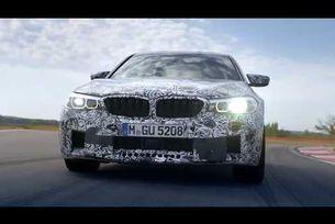 Новото BMW M5 2018 видео тийзър