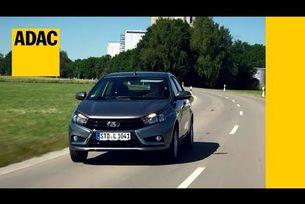 Lada Vesta тест ADAC 2017