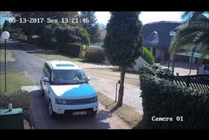 Нападение на автомобил Range Rover Sport в ЮАР