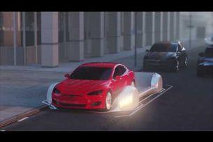 Tesla движение в подземни тунели