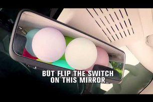 """Nissan """"умно"""" огледало за задпо виждане"""