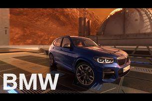 BMW X3 на Марс