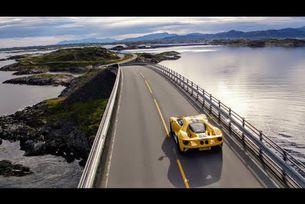 Ford GT по пътищата на Нервегия