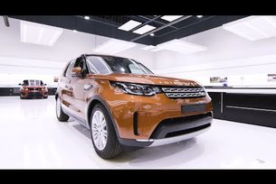 Land Rover Discovery с вградена кухня