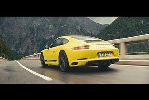 Новото Porsche 911 Carrera T