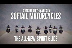 Новият 2018 Sport Glide | Harley-Davidson