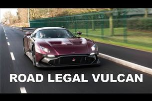 Aston Martin Vulcan на пътя