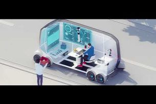 Toyota мобилната платформа e-Palette