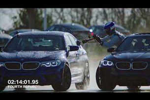 BMW M5 рекорд на Гинес с непркъснат дрифт