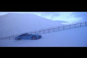 Porsche 911 Turbo S зимен тест в Шотландия