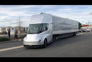 Tesla Semi тестове