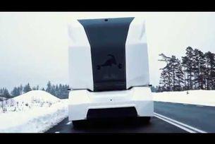 T-pod Autonomous Mode автономни камиони Швеция