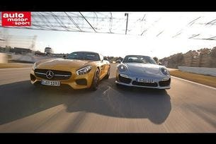 Импресии - Porsche 911 Turbo vs. Mercedes AMG GT S