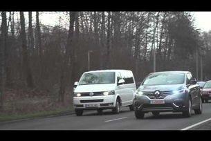 Демонстрация на Renault Espace с автономно управление