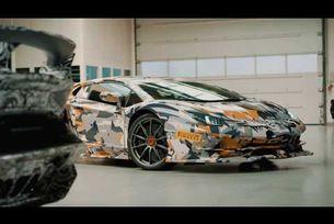 Lamborghini Aventador SVJ видео тест на Нюрбургринг