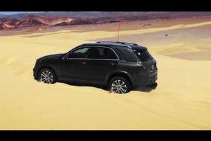 Mercedes-Benz GLE с нови възможности при офроуд