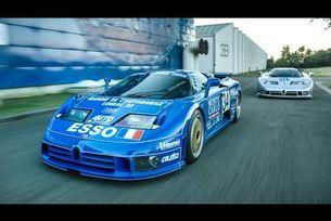 История на два автомобила Bugatti EB110