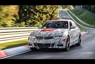 Новото BMW Серия 3 на тестове на Нюрбургринг