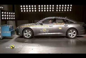Краш тест на Euro NCAP на  Audi A6