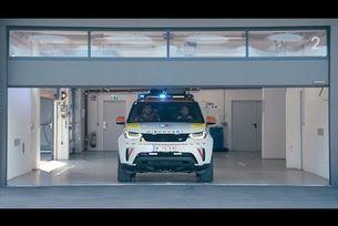 Land Rover Discovery за спасителни операции