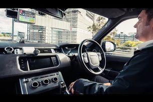 Автономен Range Rover Sport на тест в Ковънтри
