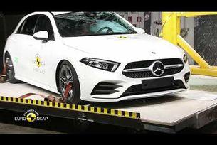 Краш тест на Mercedes-Benz A - класа